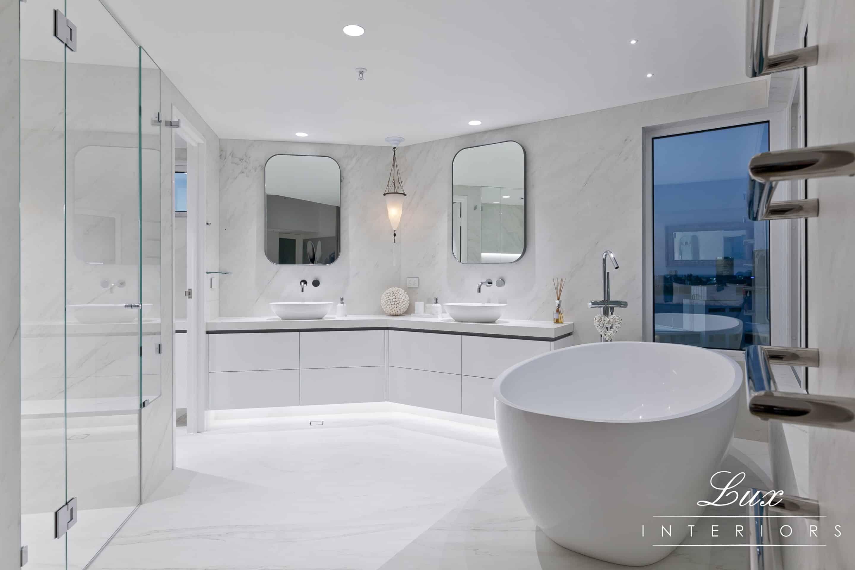 wide angled bathroom shot