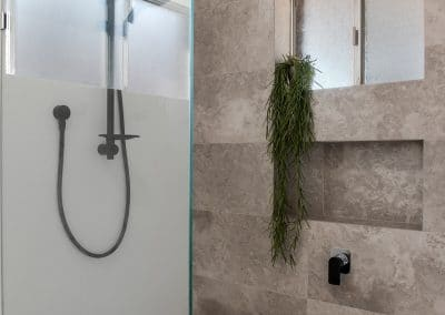 internal shower with