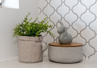small plant and tile detail