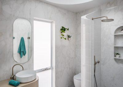 Doubleview Contemporary Bathroom