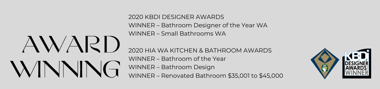 2020 HIA and KBDi Award Winner for 5 Awards