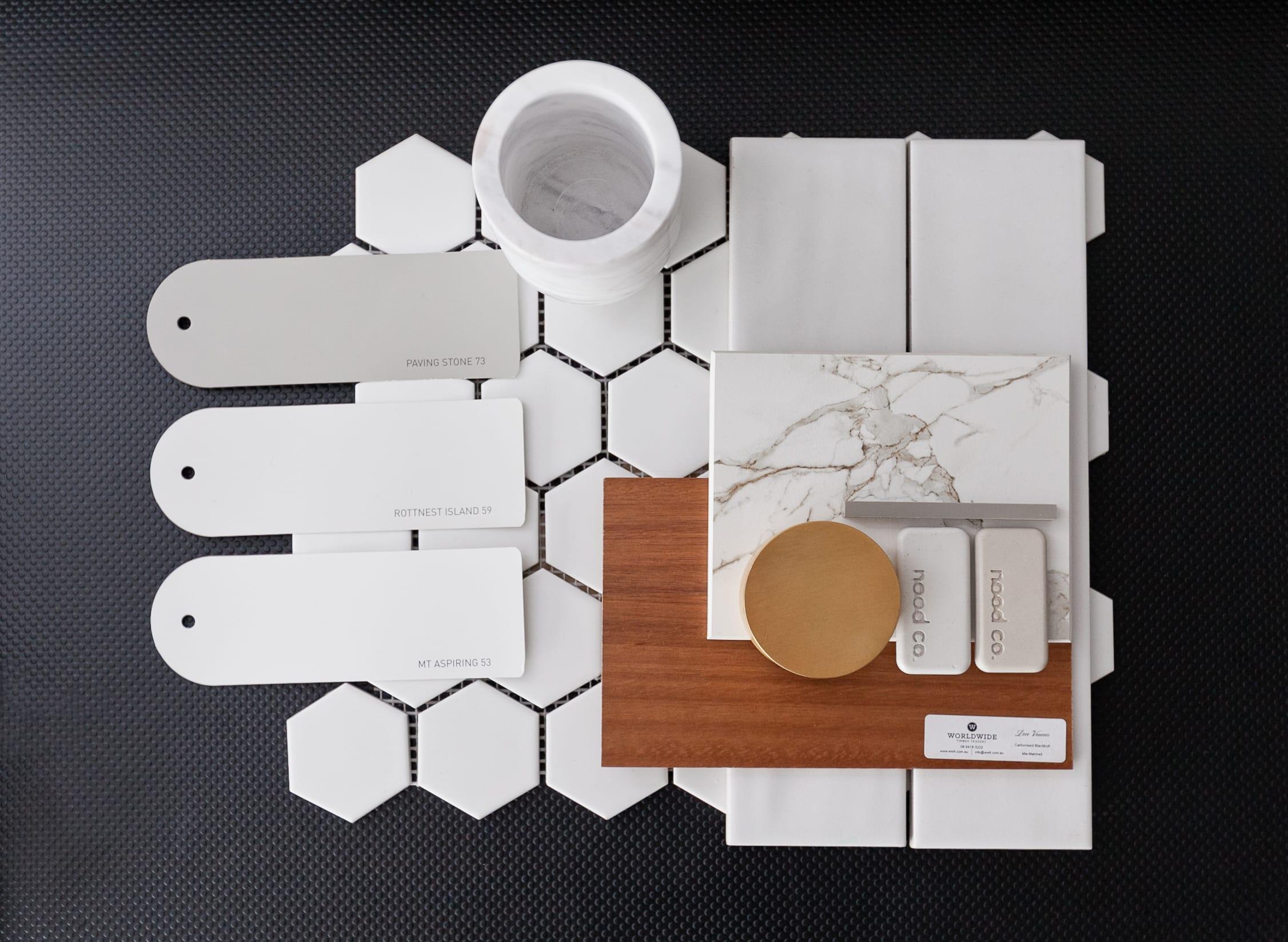 Bathroom Selection Flat Lay
