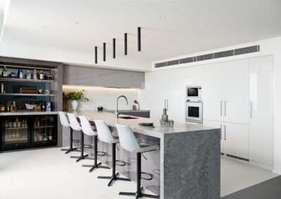 Mandurah Marina Apartment Kitchen