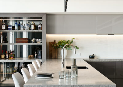 Apartment kitchen moody and NYC vibe
