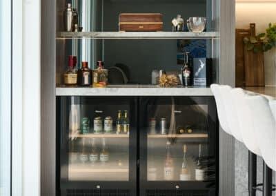 Apartment moody bar