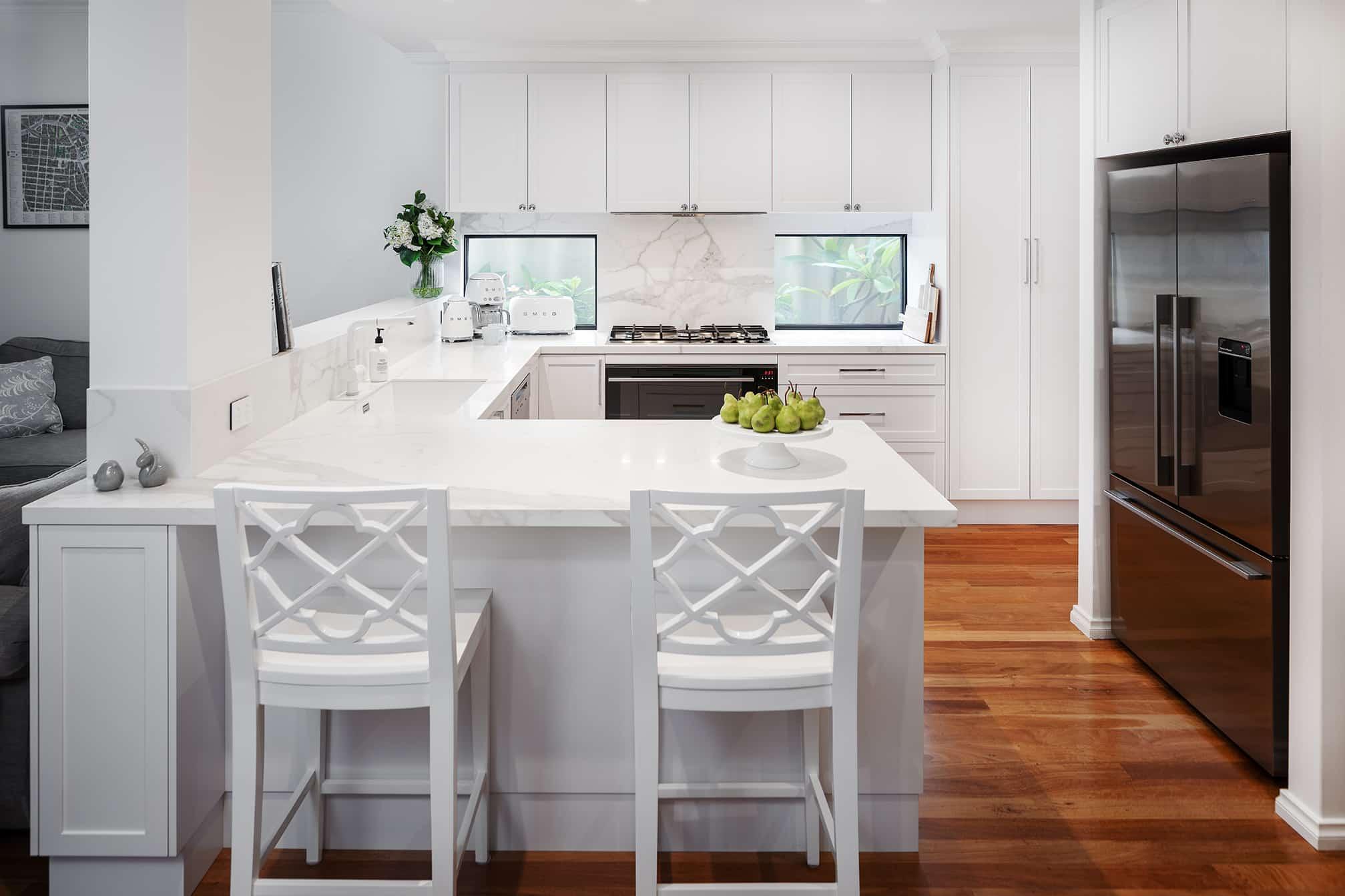 Joondanna Hamptons Kitchen overview