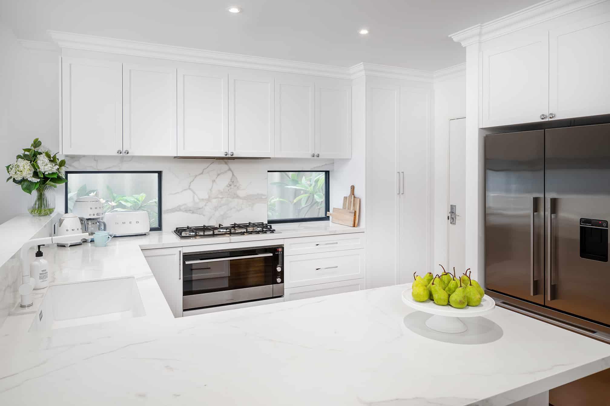 Joondanna Hamptons Kitchen overview 2