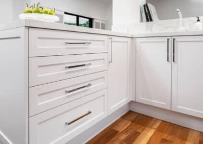 Joondanna Hamptons Kitchen cabinetry 2
