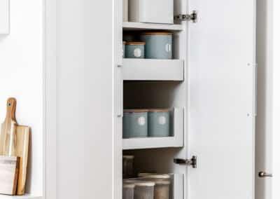 Joondanna Hamptons Kitchen pantry open