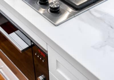 Joondanna Hamptons Kitchen stove and benchtop