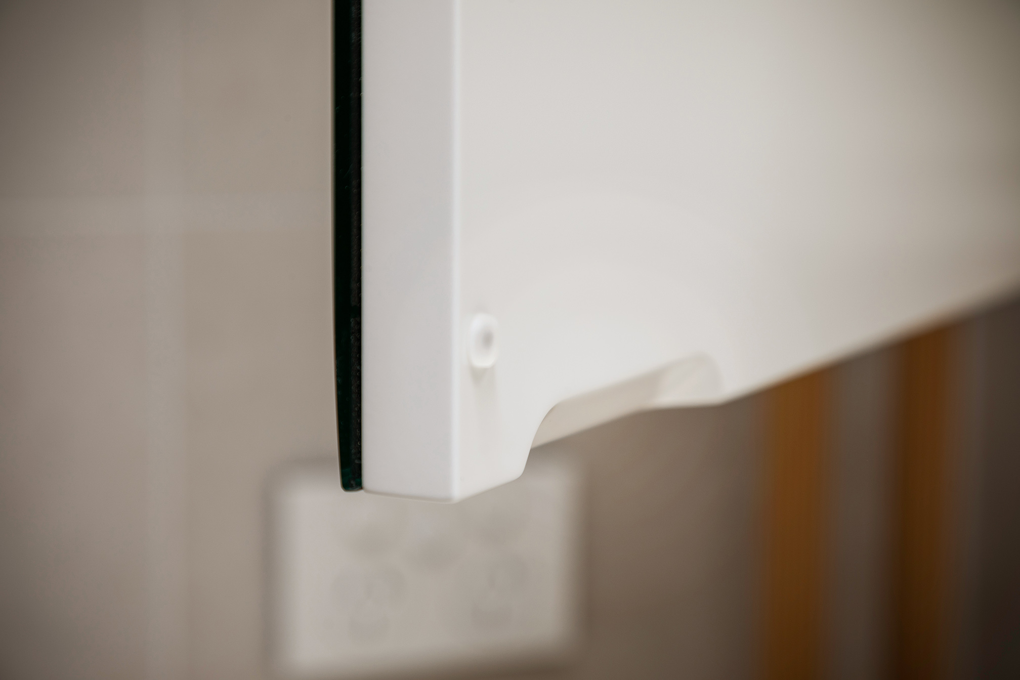 Mount Lawley Traditional Skylit Ensuite - Close up of cabinet pull