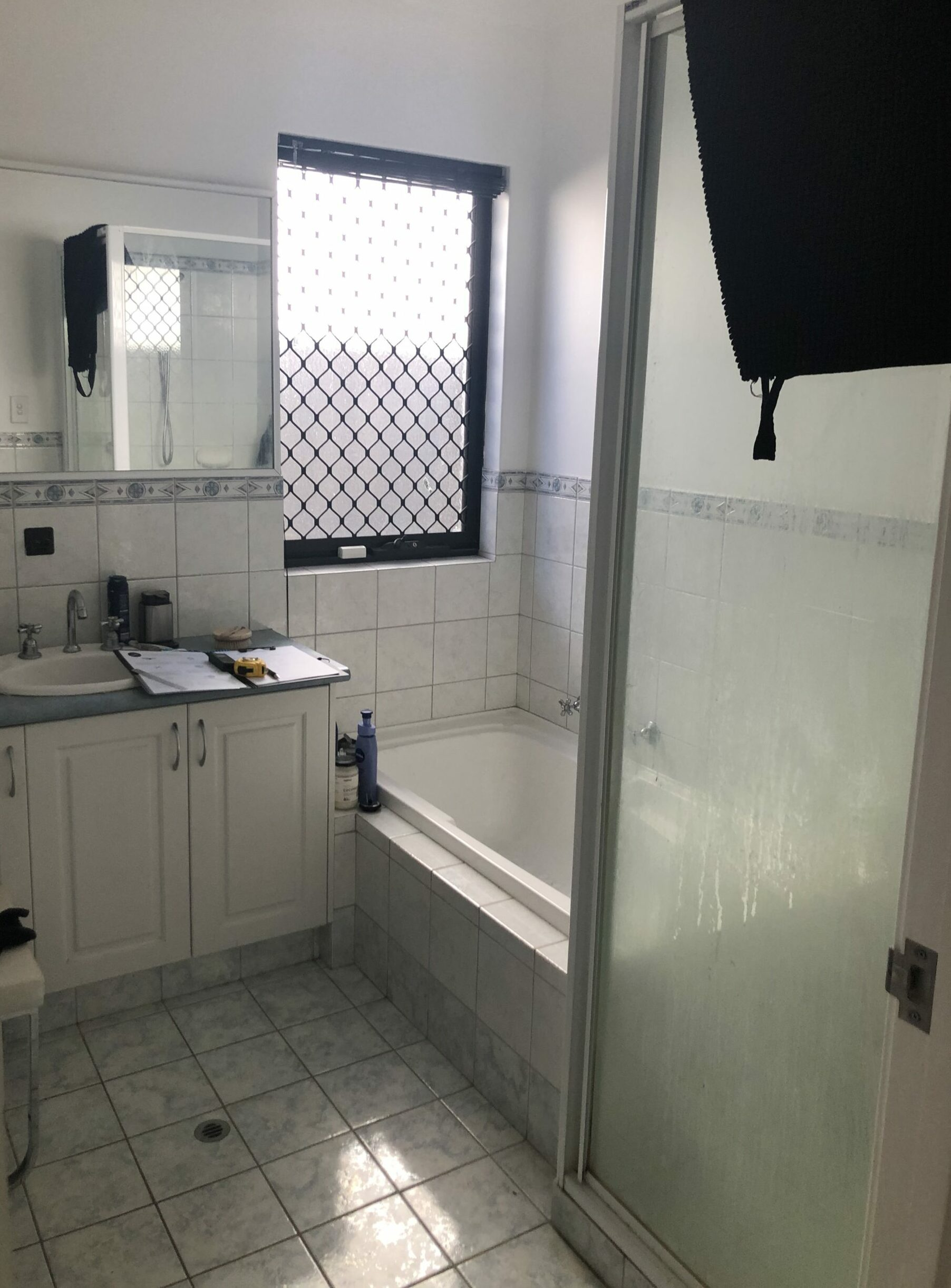 Before Main Bathroom